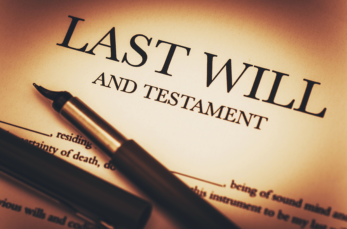 The unfortunate cost of a homemade Will